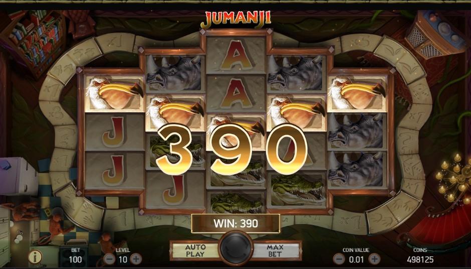 Jumanji เกมสล็อต
